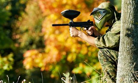 Paintballing Day with 100 Paintballs for Five, Ten or 15 at Weekend Warriors (Up to 93% Off)