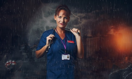 NHS or Key Worker Superhero Photoshoot with A4 Print at Click Portrait Experiences, Nationwide (Up to 90% Off)