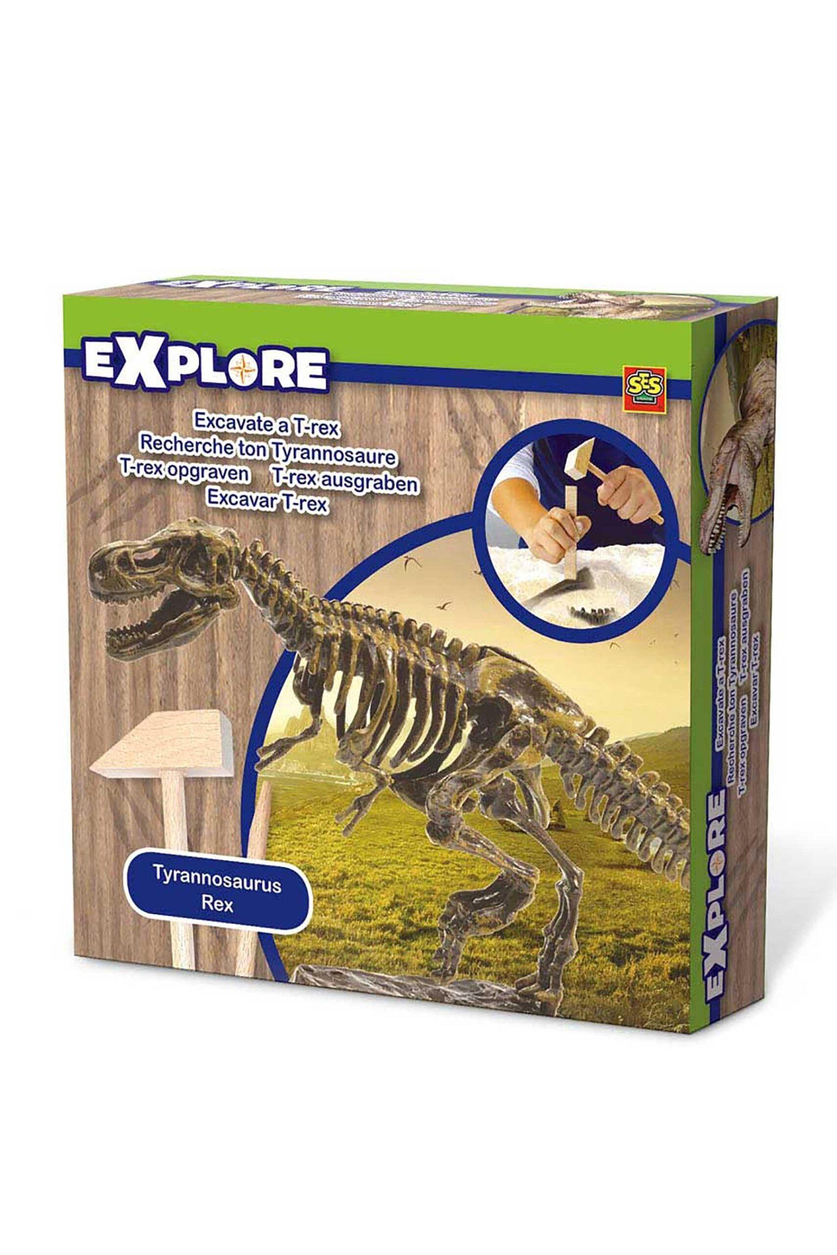 SES Creative Explore Excavate a T-Rex Skeleton