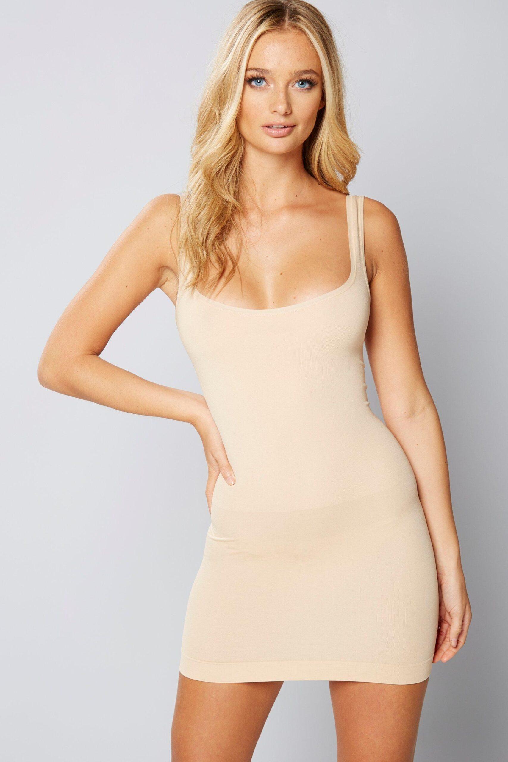 Under Bust Shapewear Dress
