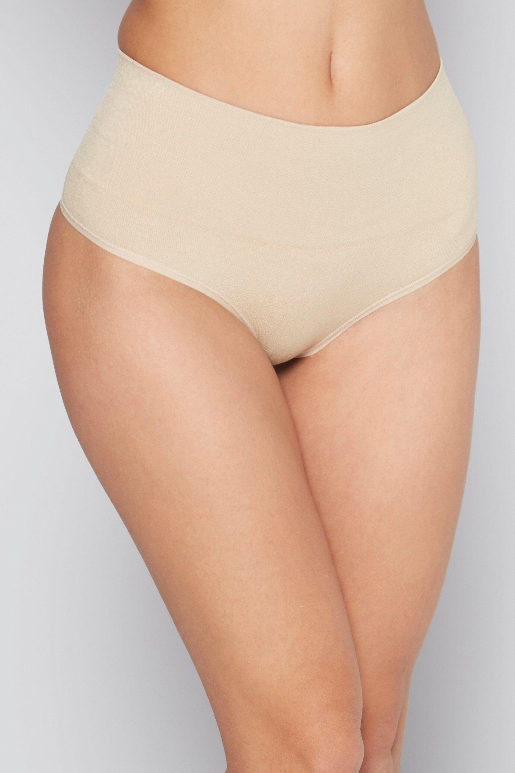 High Waist Control Thongs