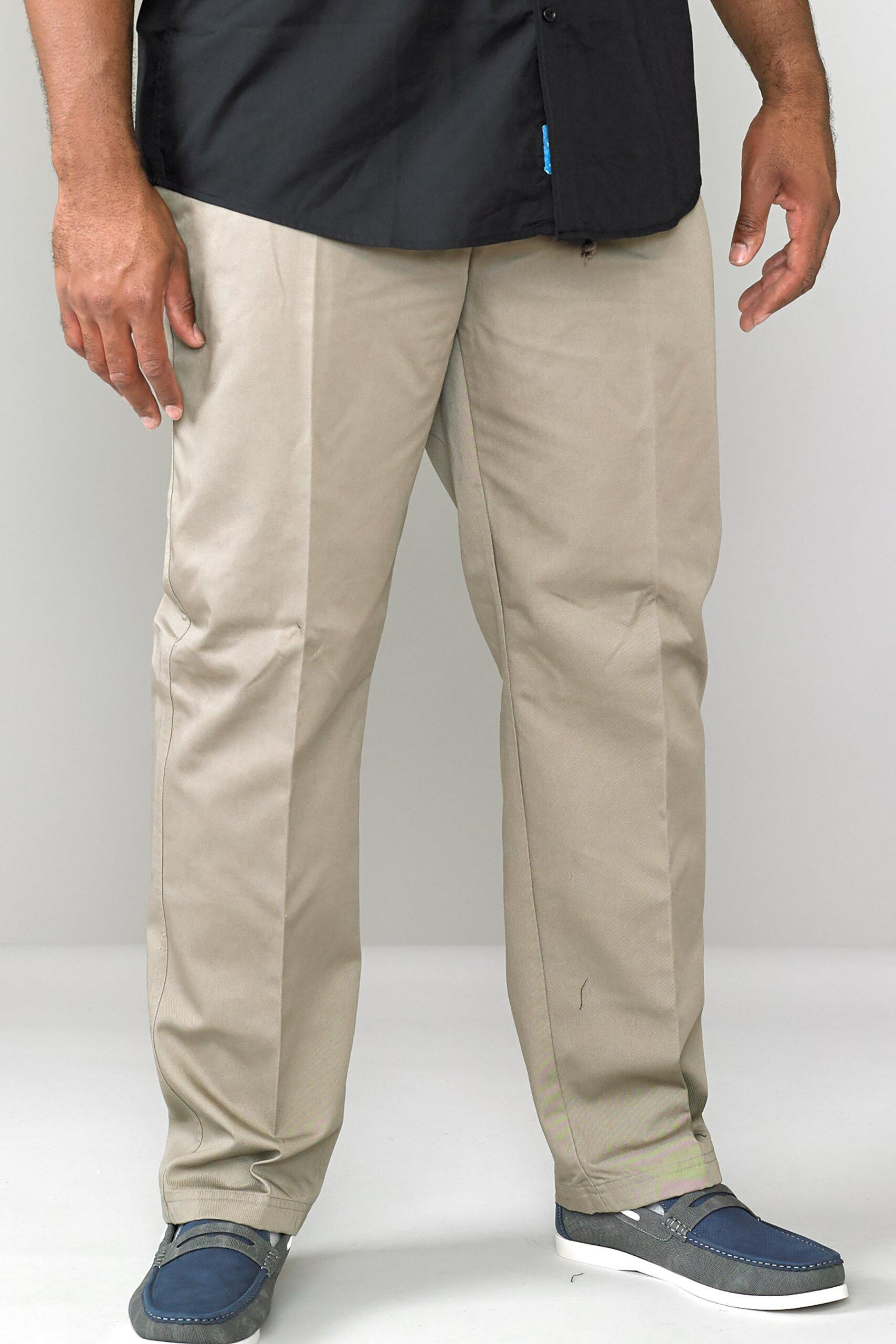 D555 by Duke Big and Tall Elastic Trousers