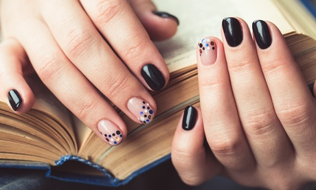 Gel Manicure, Pedicure or Both with Optional Eyebrow Wax and Shaping at The Hands of the Buddha (Up to 41% Off)