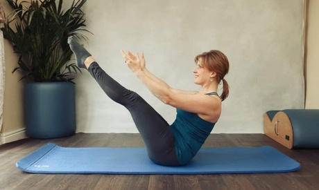 One Month of Online Pilates Classes with Jourdan Pilates (66% Off)