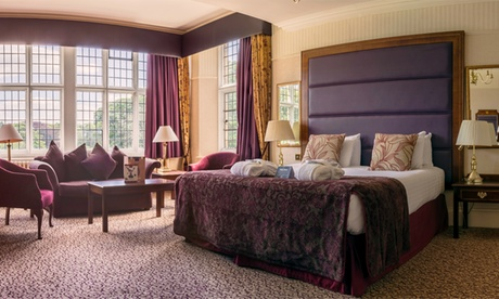 Co. Durham: Double or Deluxe Room for Two with Breakfast and Dinner at 4* Redworth Hall Hotel