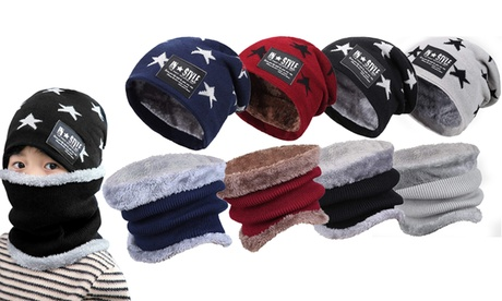 One or Two Star Beanie and Scarf Sets