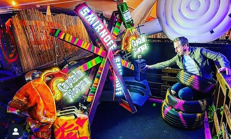 One or Two Rounds of Mini Golf for Up to Four at Bck Yrd Golf (Up to 58% Off)